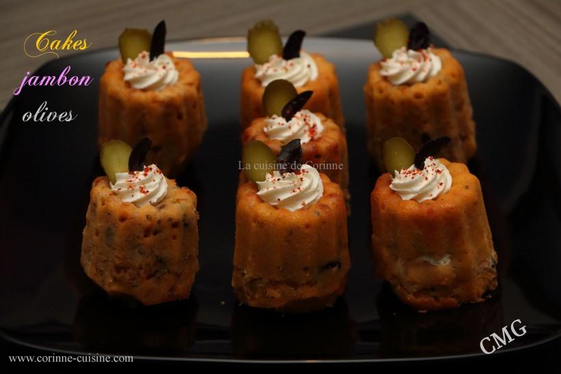 Cakes jambon