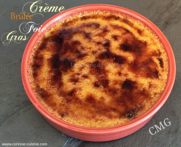Crème brûlée foie gras