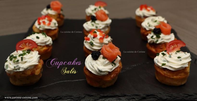 Cupcakes salés