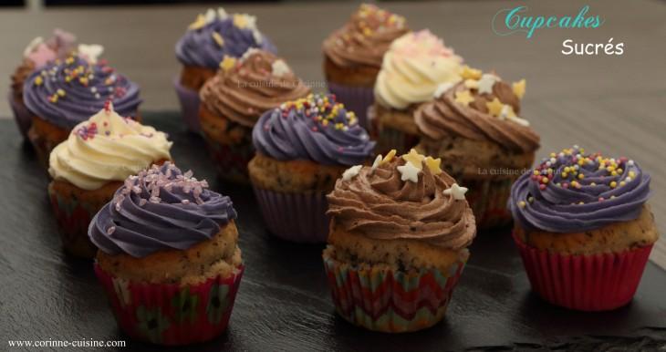 Cupcakes sucrés