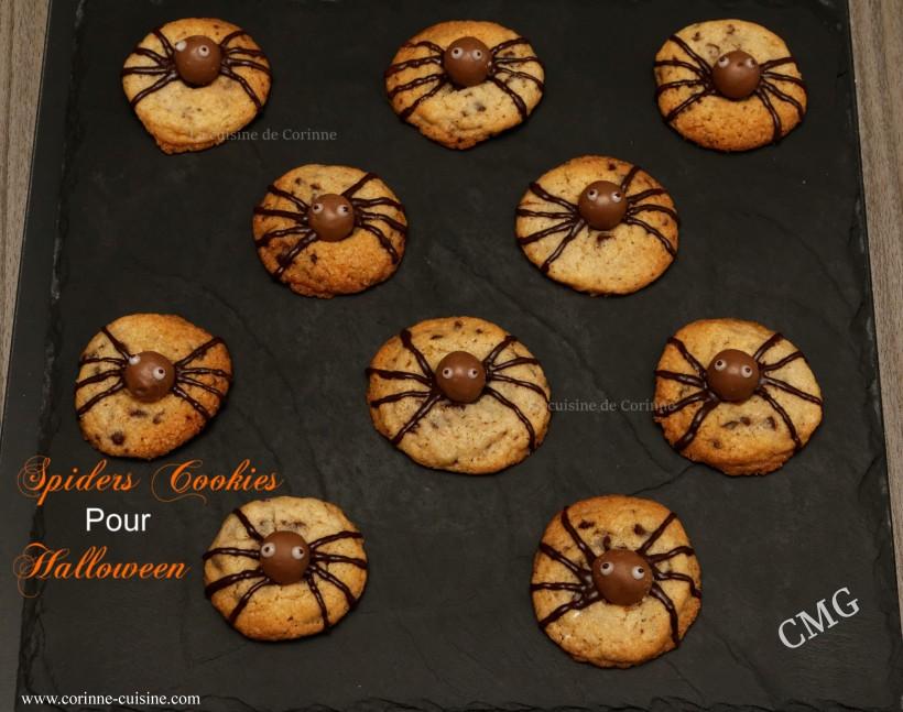 Spiders cookies