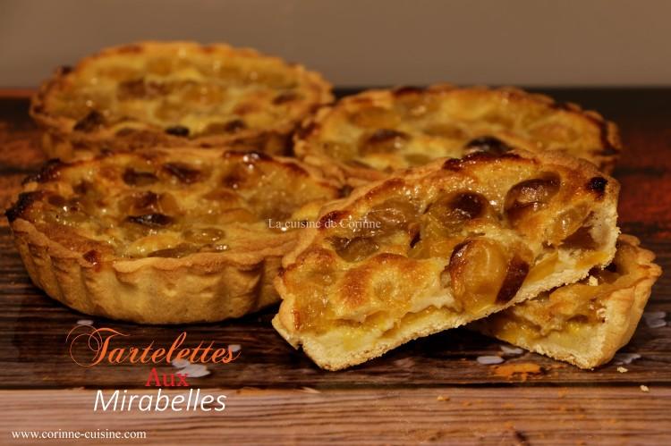 Tartelettes mirabelles
