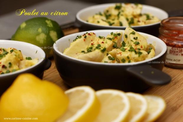 Poulet safran citron