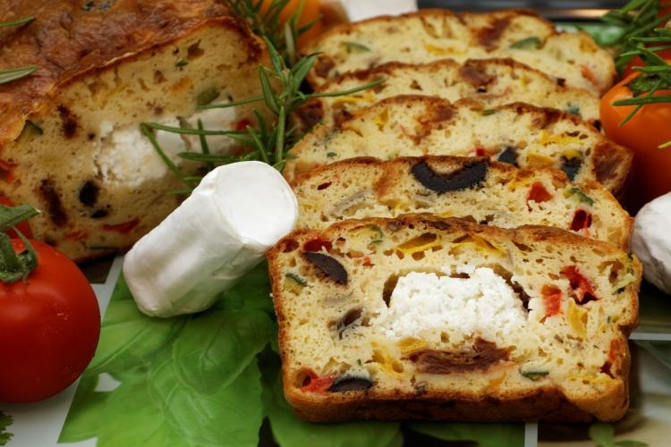 Cake au chèvre - Corinne diététicienne nutritionniste - Viry - Annemasse