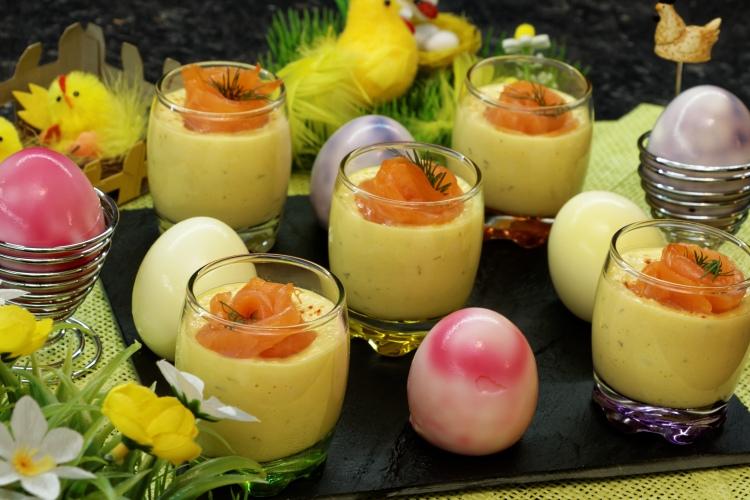 Oeufs mimosa au saumon fumé - Corinne diététicienne nutritionniste - Viry - Annemasse